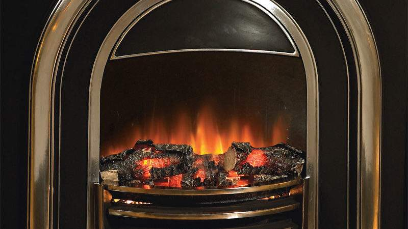 Flamerite Fires Tennyson Electric Cast Arch Stanningley