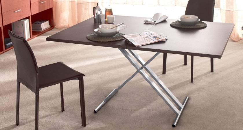 Flip Fold Out Dining Coffee Table Tables