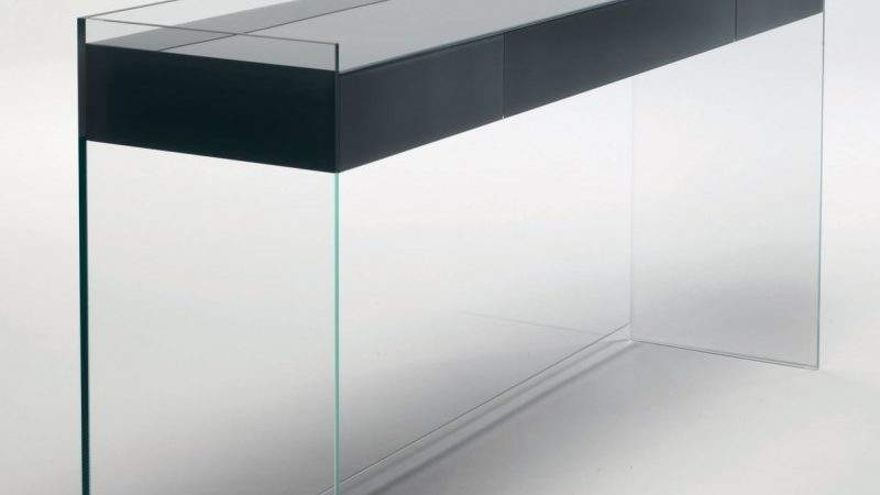 Float Console Table Drawers Handle