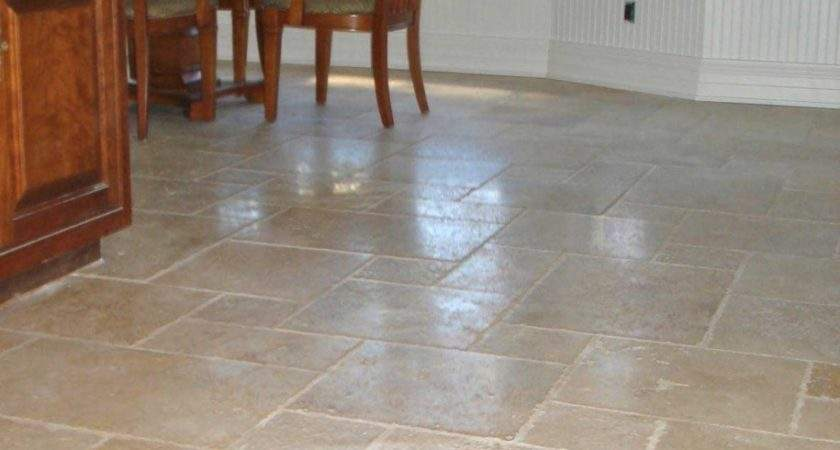 Floor Classy Cream Polished Ceramic Tile Flooring Room