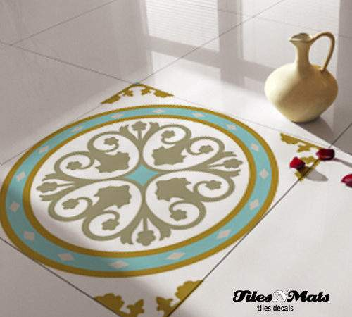 Floor Tile Decals Eclectic Wall Other