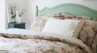 Floral Country Bedroom Housetohome