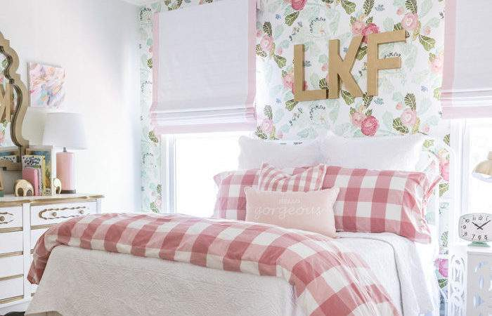 Floral Fun Big Girl Room Home Decor Style Your Senses