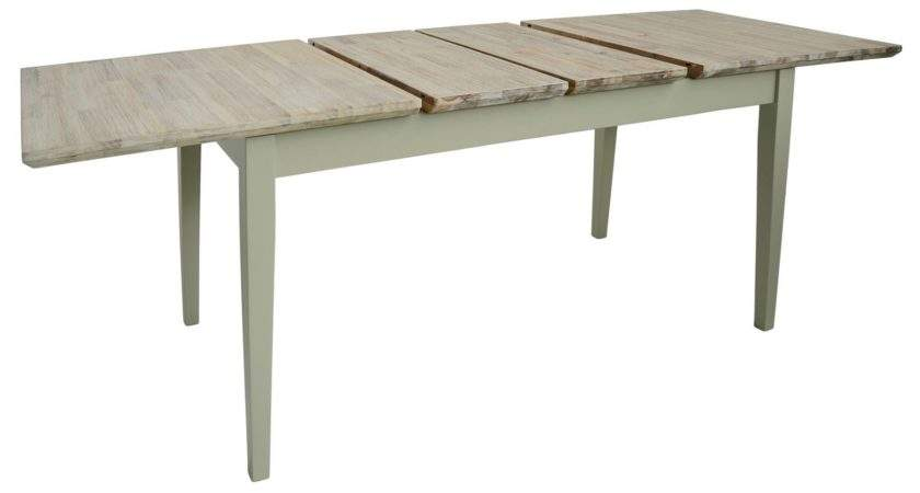 Florence Large Rectangular Center Extension Sage Green