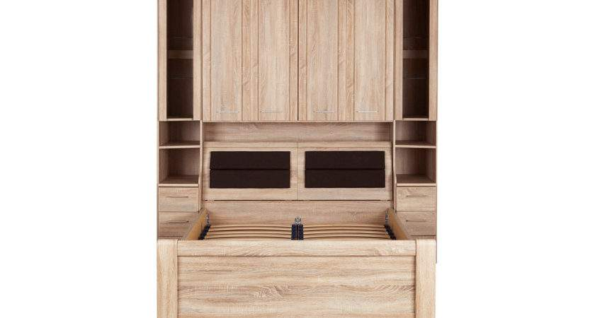 Florida Over Bed Unit Storage Box Double