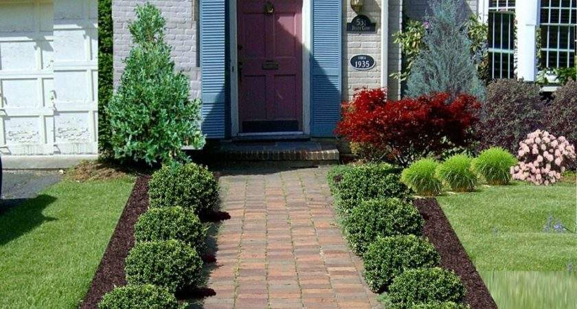 Flower Bed Ideas Front House Gardening Flowers