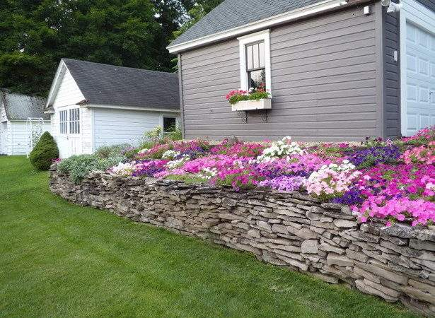 Flower Beds Front House