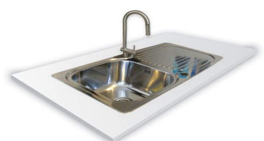 Flush Mount Sinks Stainless Steel Kitchen