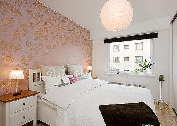 Focusing One Wall Bedroom Swedish Idea Using
