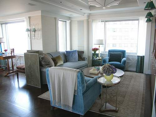 Frank Roop Turquoise Gray Living Room Blogged