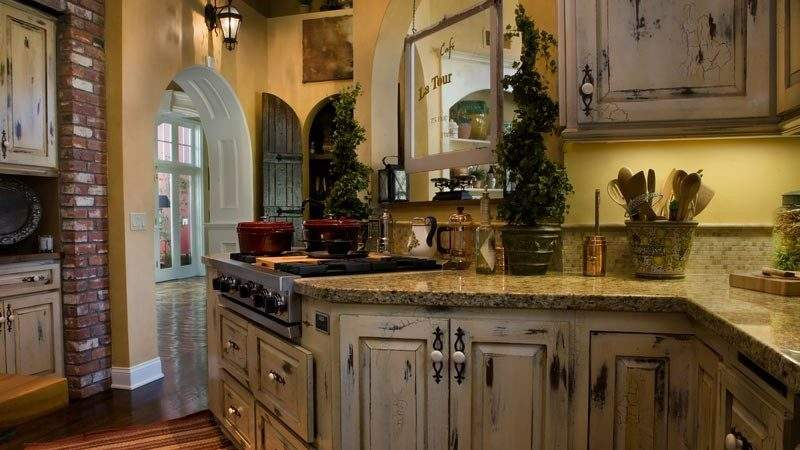 French Country Kitchens Design Ideas