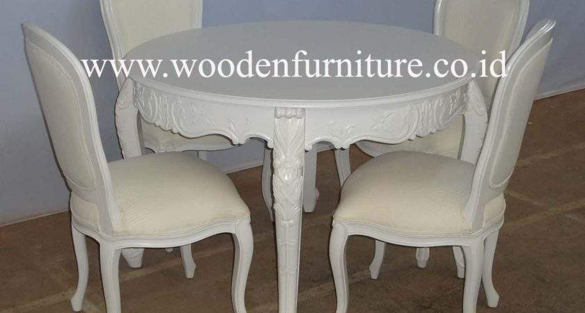 French Dining Table Chairs Style Chair