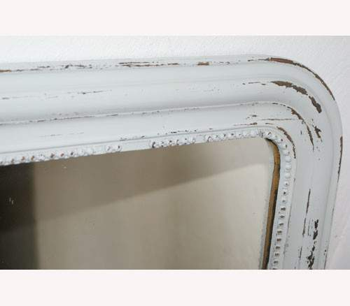 French Louis Philippe Overmantle Mirror Shabby Chic