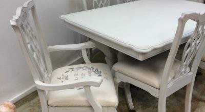 French Style Dining Table Chairs