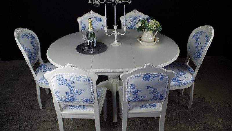 French Style Extending Dining Table Antique