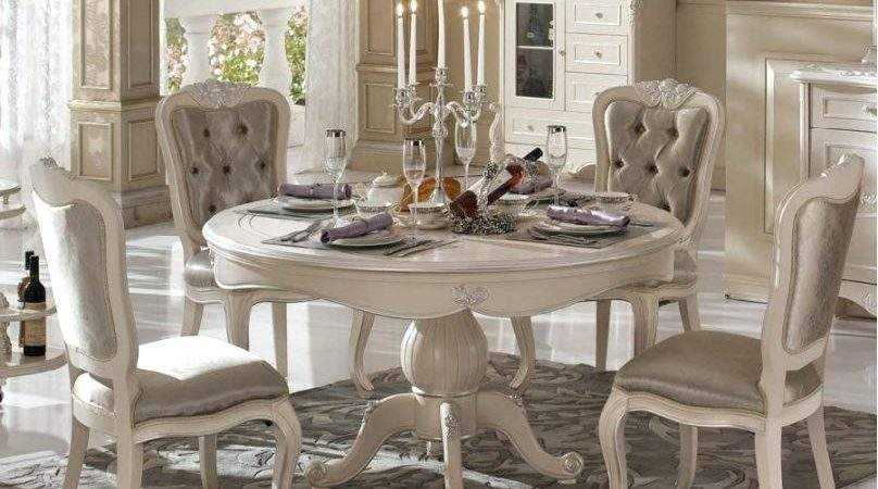 French Style Round Dining Table Zagons