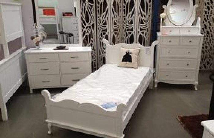 French Style Single Bed Frame Mattress