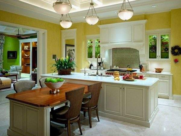 Fresh Kitchen Island Table Extension Design