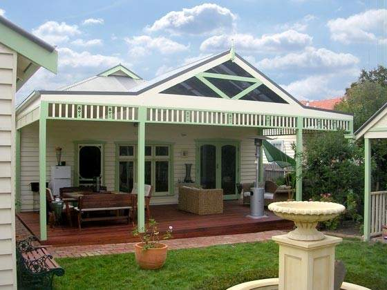 Front House Verandahs Victoria Homes Design