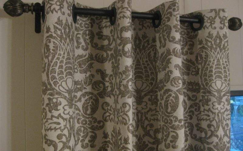 Frugal Home Ideas Easy Sew Curtains