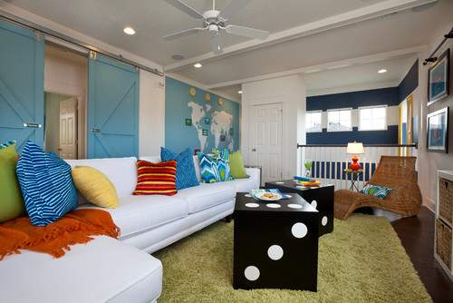 Fun Features Rooms