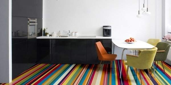 Funky Vinyl Bathroom Flooring Thefloors