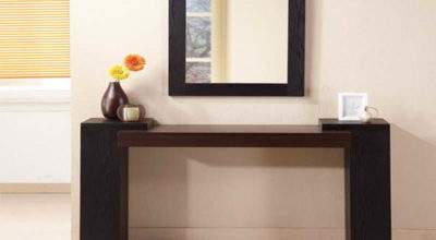 Furniture Modern Ikea Console Table Hall Bench