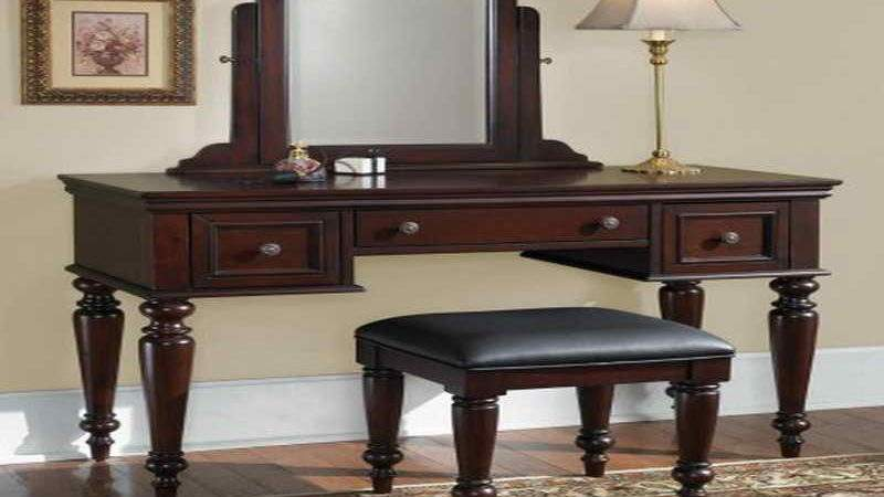 Furniture Small Vanity Table Ideas Black
