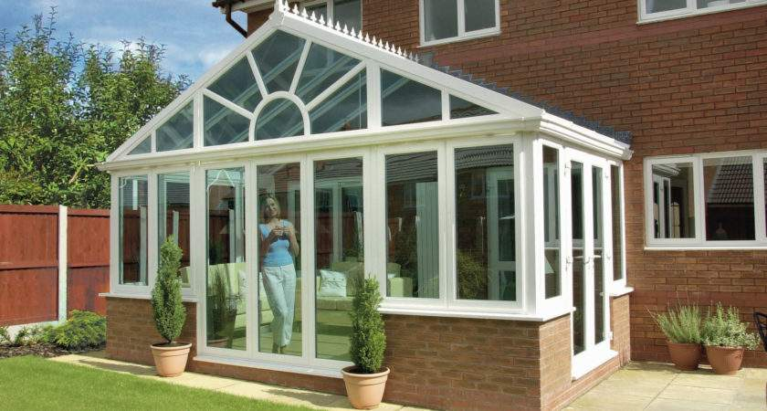 Gable Fronted Diy Selfbuild Upvc Conservatory Designs