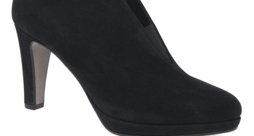Gabor Amien Womens Modern Slip Ankle Boots Shoes