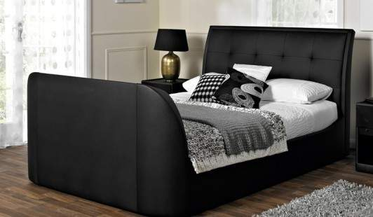 Galaxy Faux Leather Bed Frame Bensons Beds Harveys