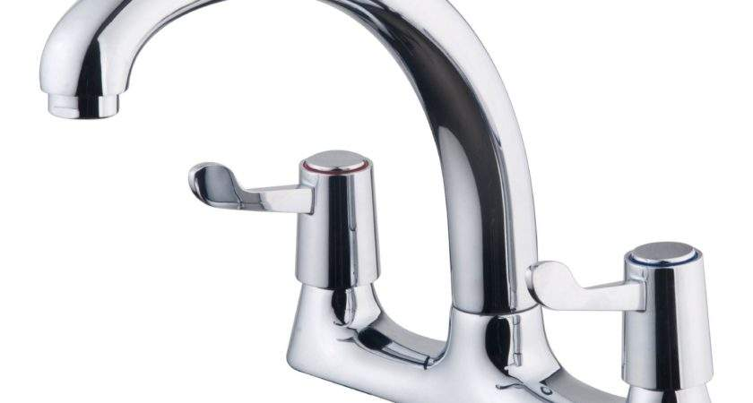 Galleny Chrome Finish Kitchen Deck Mixer Tap Departments