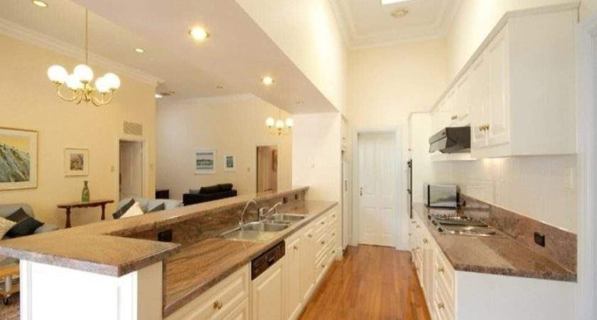 Galley Kitchen Design Colour Story