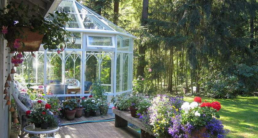 Garden Conservatory Photograph Pat Yager