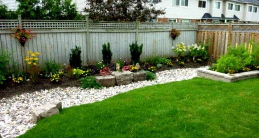 Garden Design Fast Small Yard Simple Landscaping