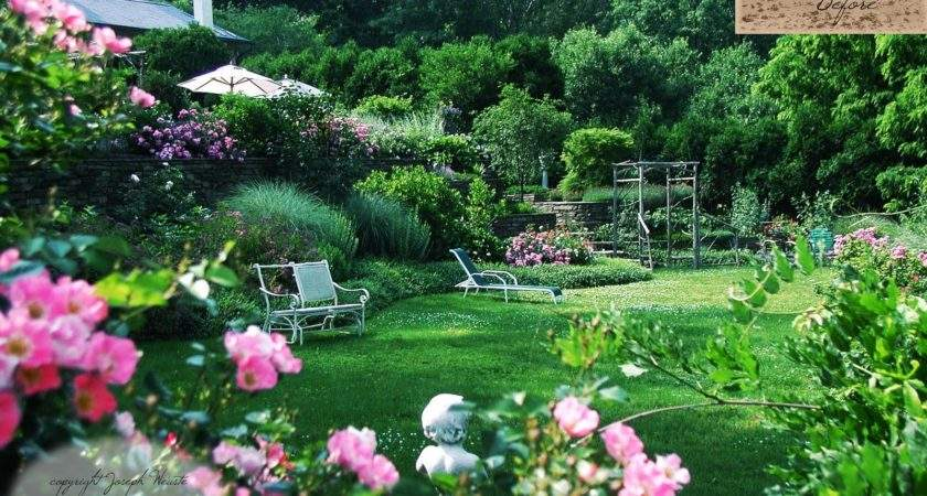 Garden Design Lush Country