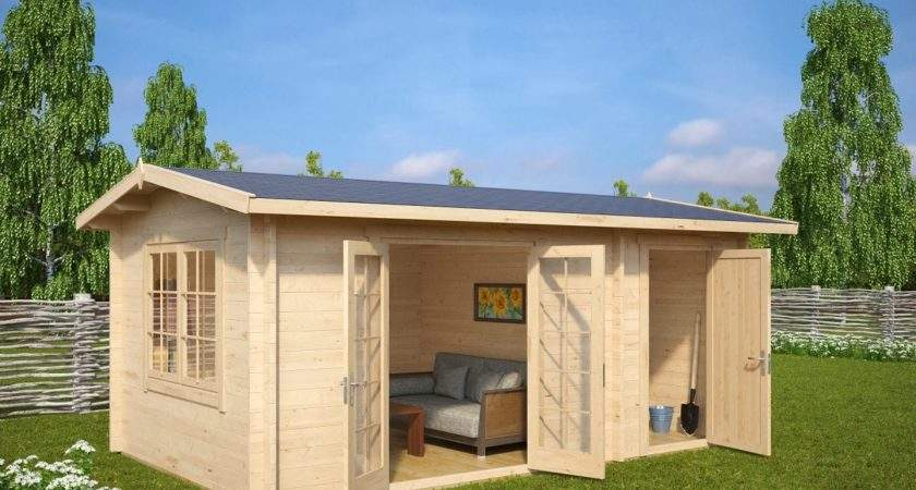 Garden Room Shed Combined Super Fred