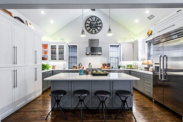 Get Their Look American Style Kitchen Diner