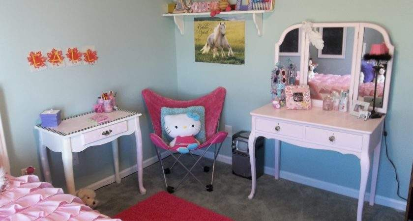 Girly Girl Bedroom Vintage Paint More