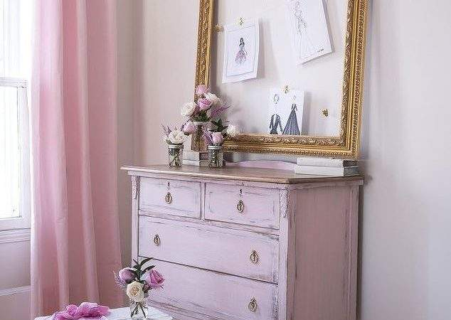 Girly Pink Dresser Hometalk