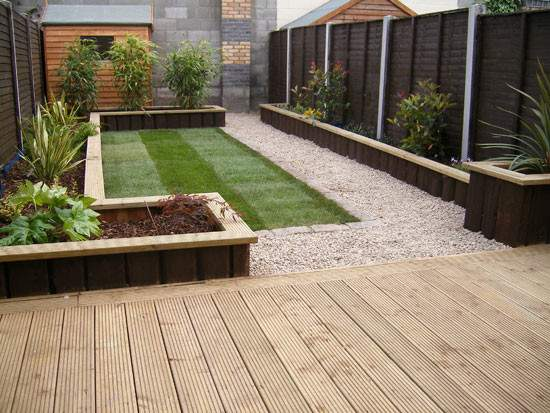 Glasnevin Decking Project Gardenviews