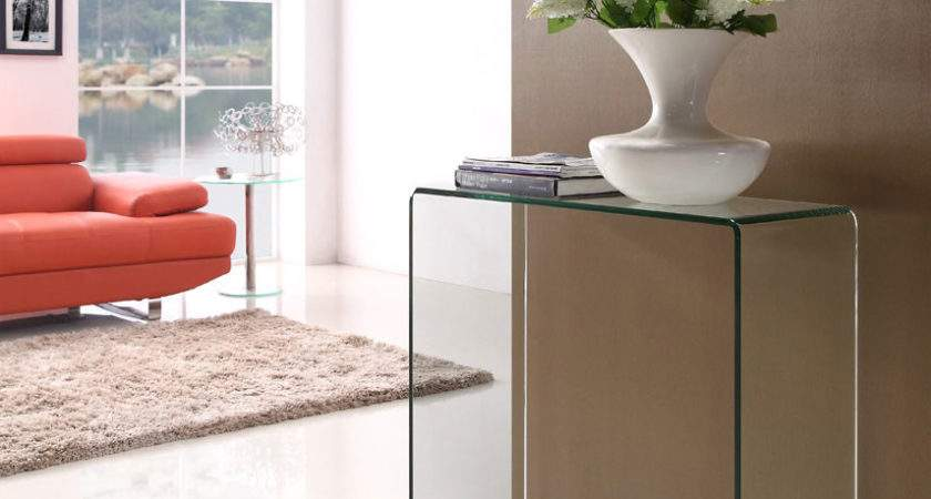 Glass Console Table Small Buy Tables