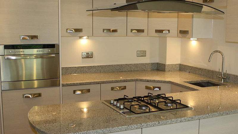 Glass Kitchen Splashbacks Supplied Fitted Throughout