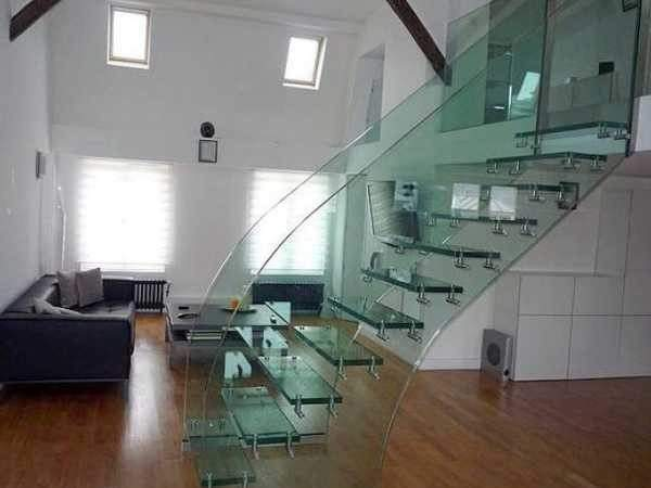 Glass Staircase Design Ideas Bringing Contemporary