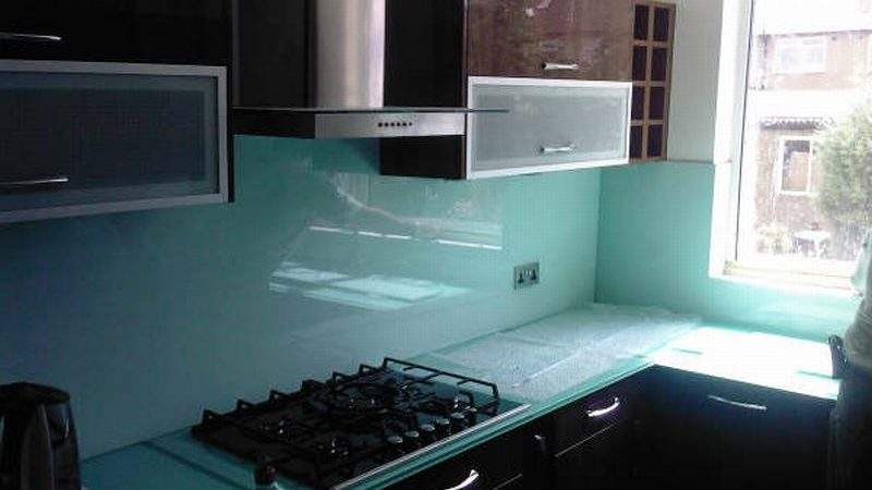 Glass Worktops Splashback Colour
