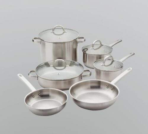 Gordon Ramsay Everyday Stainless Steel Cookware Set