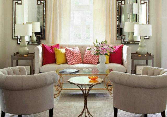 Gorgeous Living Room Mirrors