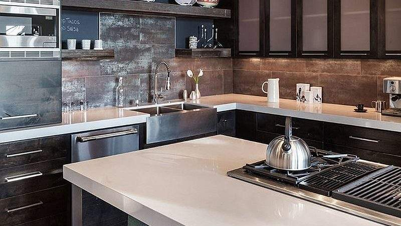 Gorgeous Ways Add Reclaimed Wood Your Kitchen