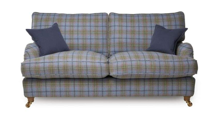 Gower Plaid Large Sofa Dfs