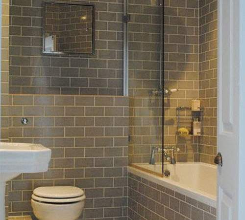Gray Bathroom Wall Tile Ideas